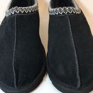 UGG Shoes - NEW UGG Tasman Black Shearling Slipper Shoes 12